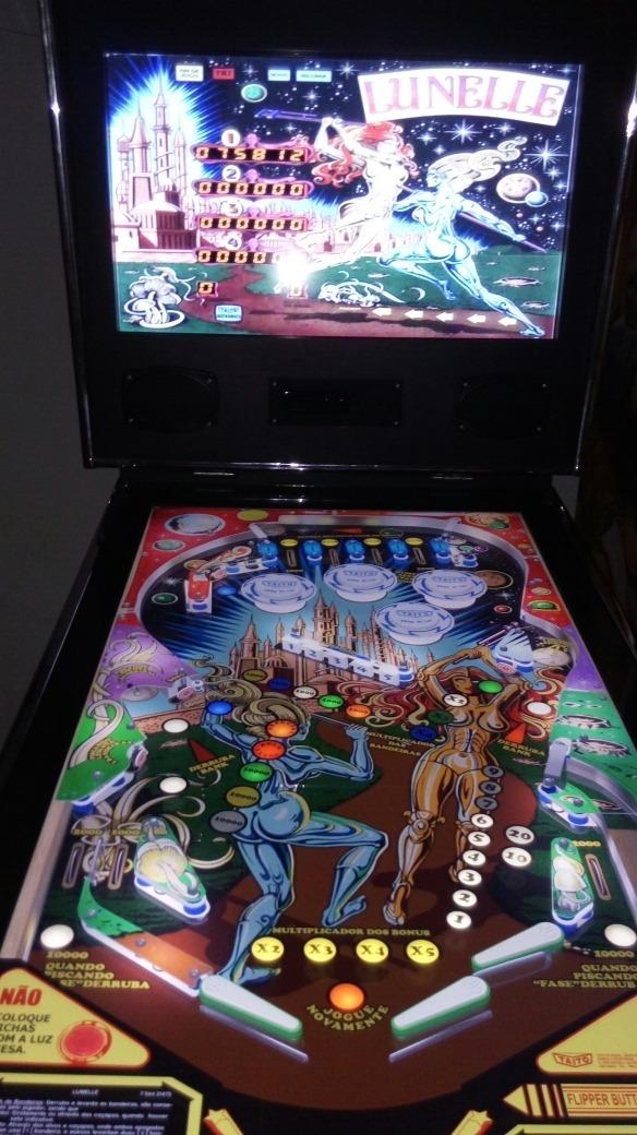 Simulador De Pinball 4k 3d 49x32 Sob Encomenda 500 Jogos
