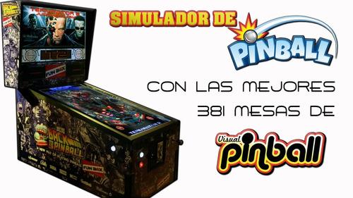 simulador de pinball para pc con 455 mesas - descargable