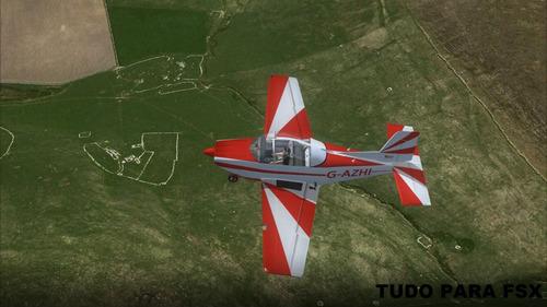 simulador de voo com aeronave tiltrotor