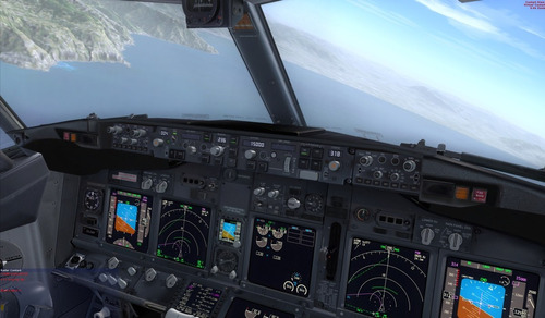 simulador de voo com atualização de 2017