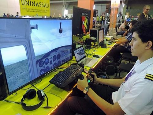 simulador de voo completo