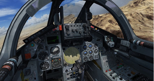 simulador de voo completo com aeronave cessna 172