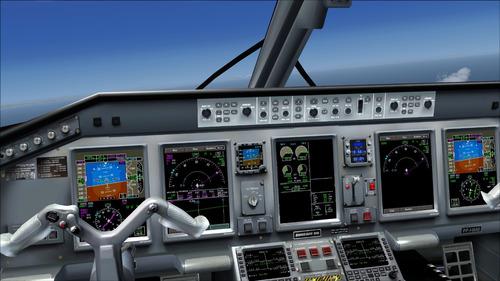 simulador de voo flight simulator 2004 com 737-800 fmc
