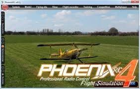 simulador de voo phoenix rc 4.0 completo - envio grátis