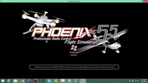 simulador de voo phoenix rc 5.5 completo
