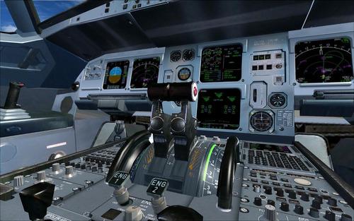 simulador de vuelo