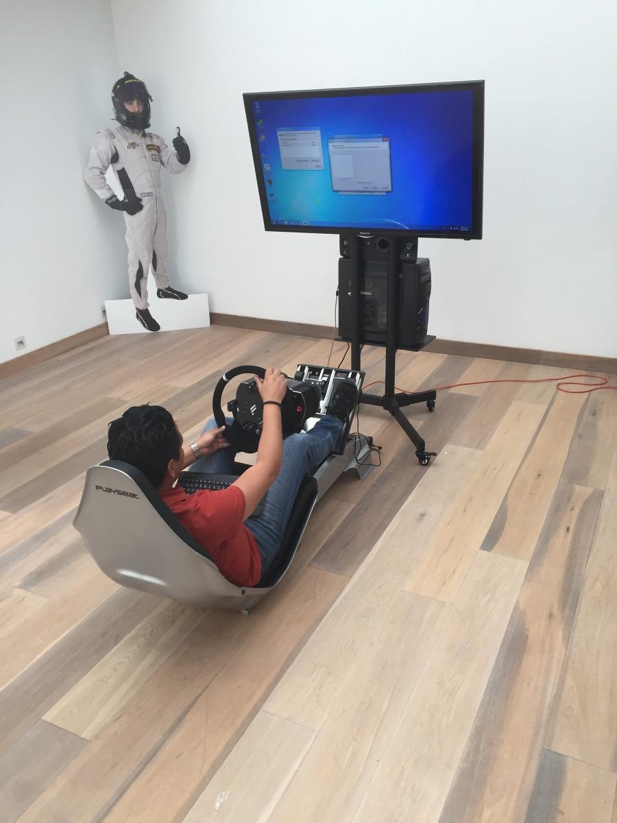 Simulador Formula 1 Accesorios Playseat Fanatec Tv 50 - $ 149,000.00 ...