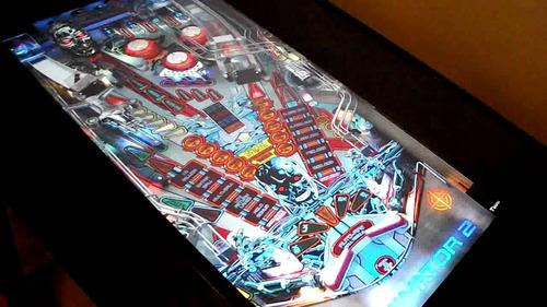 simulador pimbal 3d com tv de led 40p