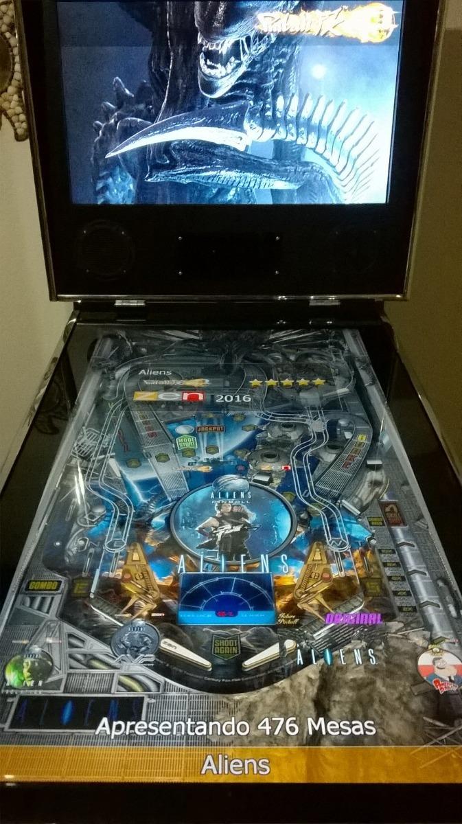 Simulador Pinball 4k Kinect 49 Cromo 500 Jogos Sob Encomenda