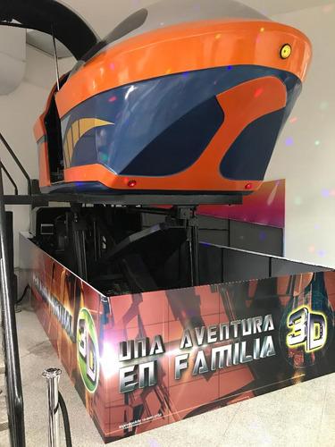simuladores 3d- realidad virtual - juegos mecánicos