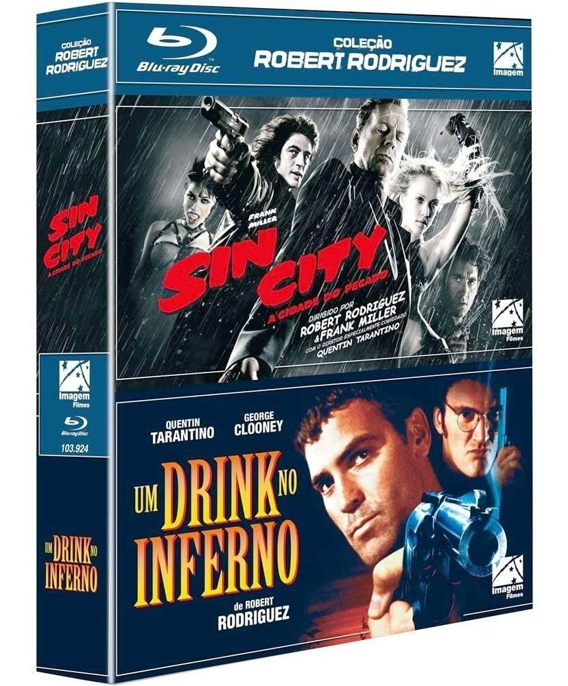 Sin City E Um Drink No Inferno Box Blu-ray Robert Rodriguez