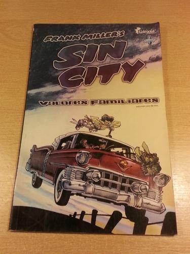 sin city vol. 1 valores familiares ed.gargola argentina 2007
