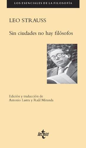 sin ciudades no hay filósofos(libro filosofía)