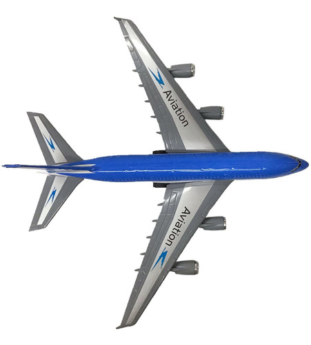 sin control avion