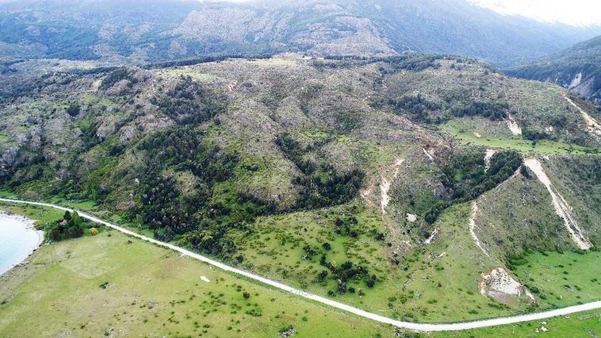 sin dirección, río ibáñez