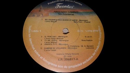 sin fronteras abriendo camino lp vinyl rare nuevo  1996