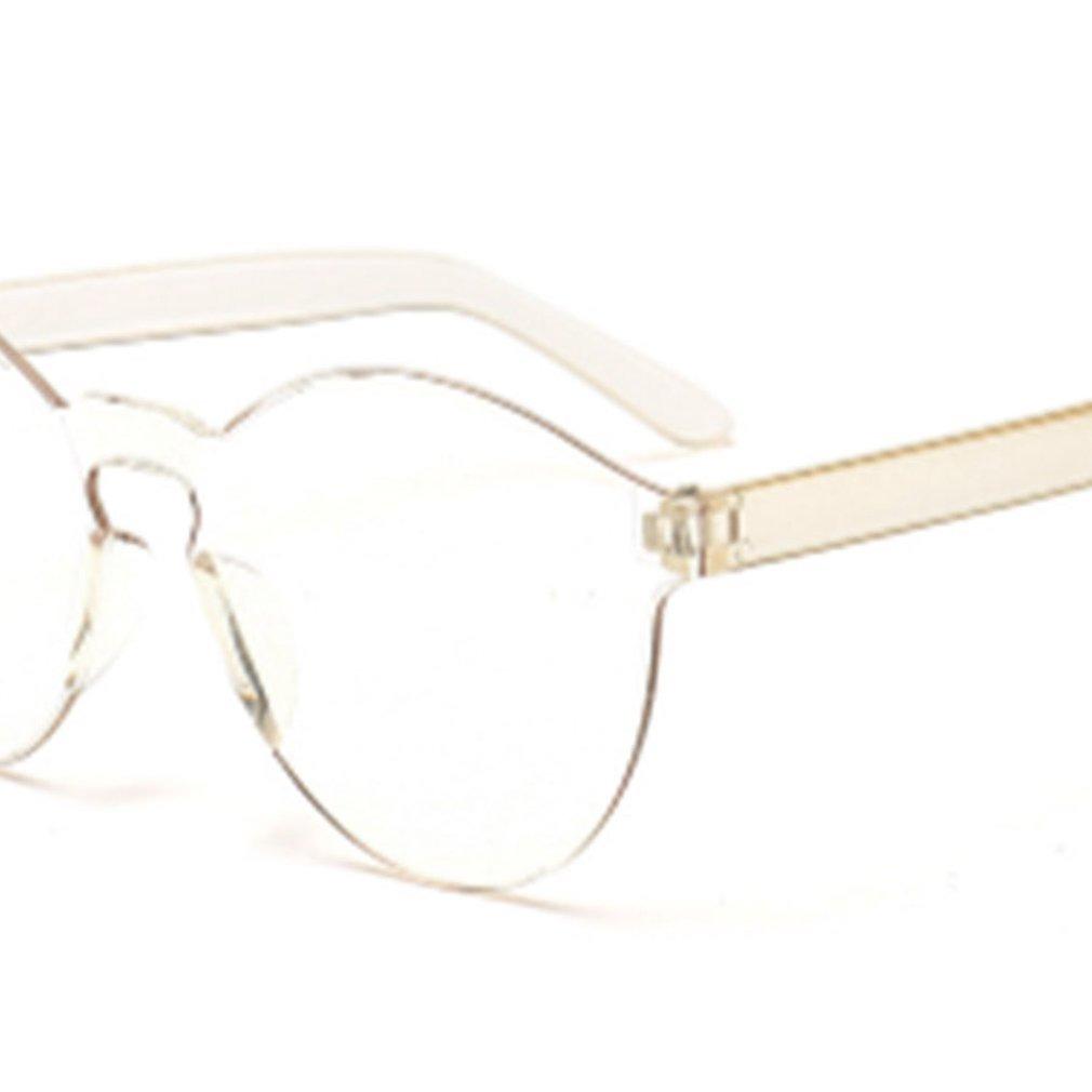 cf0980f444 sin marco jalea transparente color caramelo gafas de sol gaf. Cargando zoom.