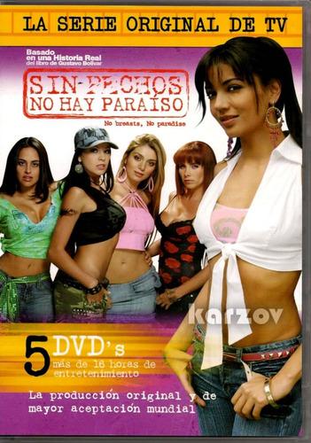 sin pechos no hay paraiso la serie original colombia en dvd