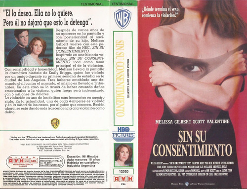 sin su onsentimiento vhs melissa gilbert without her consent