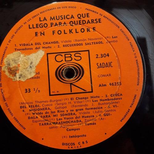 sin tapa disco la musica que llego para quedarse folklore