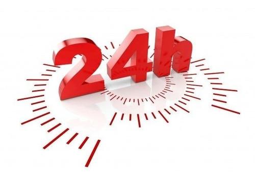 sinais 24 horas binária digital
