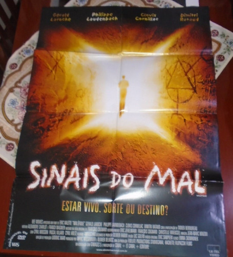 sinais do mal filme poster gigante original 2002