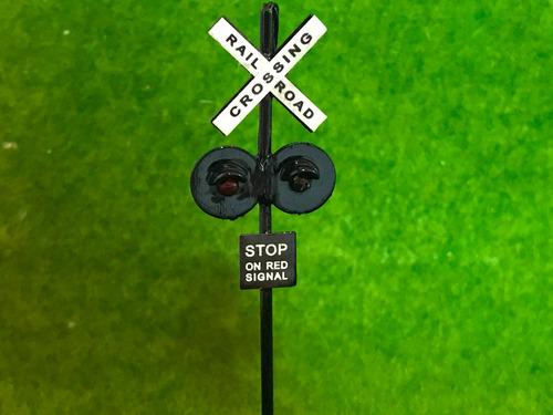 sinal ferrovia ho 1:87 p/ maq. frateschi p05