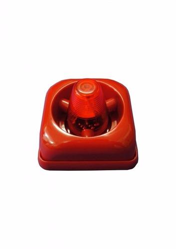 sinalizador acústico visual e sonoro para saída engesul