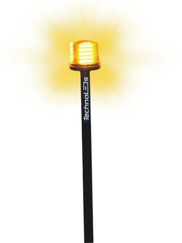 sinalizador de led giroled giroflex de led p/ moto 72 leds