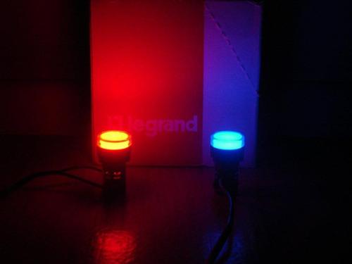 sinalizador led 12v 22mm / luminoso led para painel