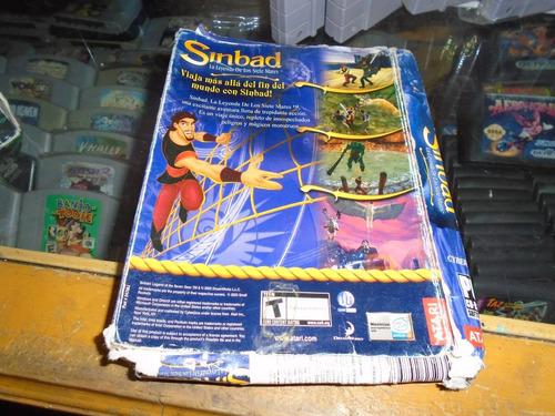 sinbad la leyenda de los 7 mares juego pc envio gratis