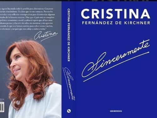 sinceramente - cristina fernandez de kirchner - libro cfk