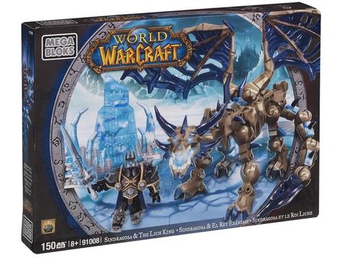 sindragosa & the linch king - world of warcraft - megablocks