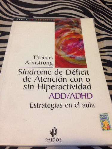 sindrome de déficit de atencion con o sin hiperactividad