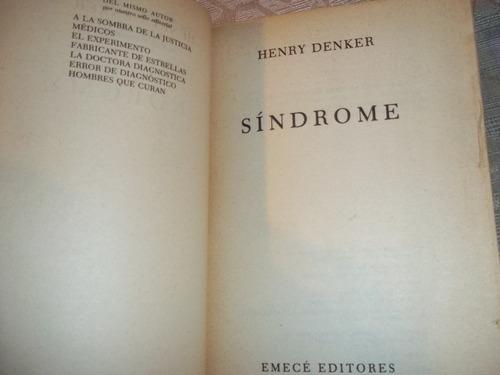 sindrome - grandes novelistas - henry denker