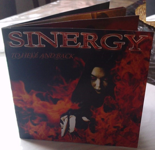 sinergy to hell and back cd made in germany 2000 c/booklet