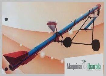 sinfin  cargador de silos  procor elevador de cereal chimang