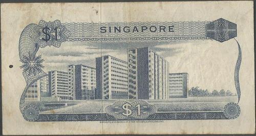 singapur 1 dollar nd1972 p1d