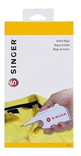 singer 5-inch by 2-inch button magic