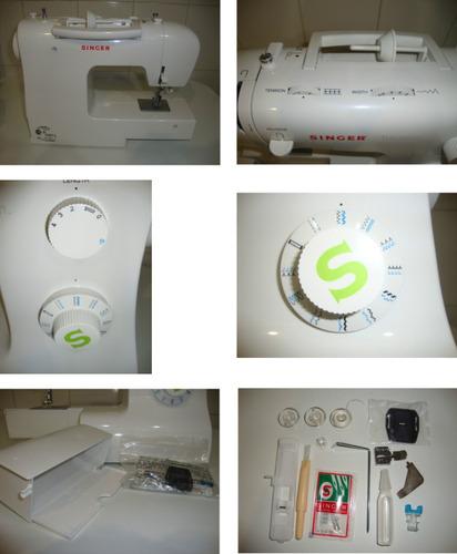 singer máquina coser sin
