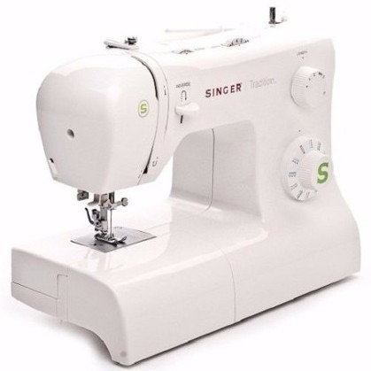 singer maquina de coser 2273 ojalador enhebrador + curso