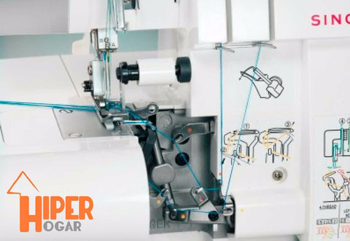 singer overlock 14sh754 cose 3 o 4 hilos 2 agujas 1300ppm