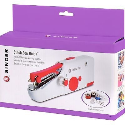 singer stitch sew quick maquina de coser portatil y manual
