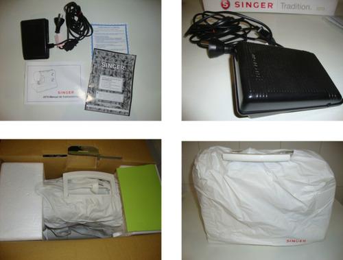 singer tradition 2273 máquina de coser nueva sin uso