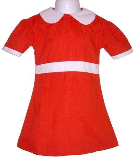 singing little orphan girl red dress traje adulto pequeño o