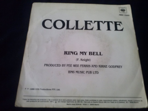 single collette ring my bell