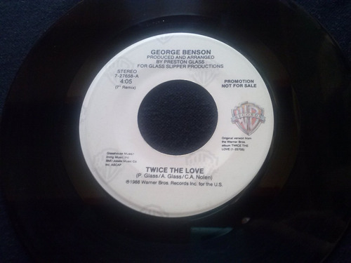 single george benson - twice the love