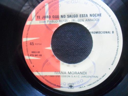 single ivana morandi