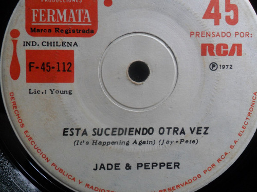 single jade & pepper