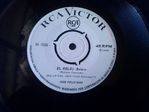 single jose feliciano - envidia y el reloj